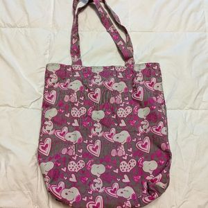 THE PEANUTS Snoopy tote